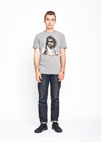 Honky Tonk Hero Men's Crew - Heather Grey