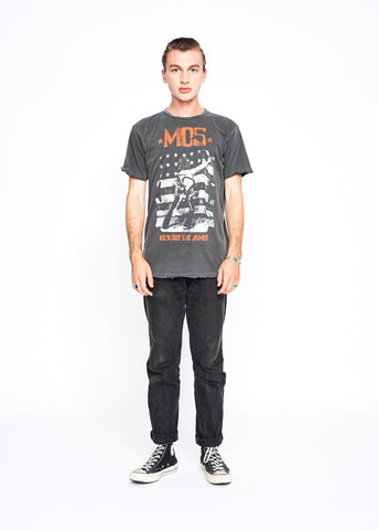 MC5 Wayne Kramer Photo Men's Crew - Vintage Black