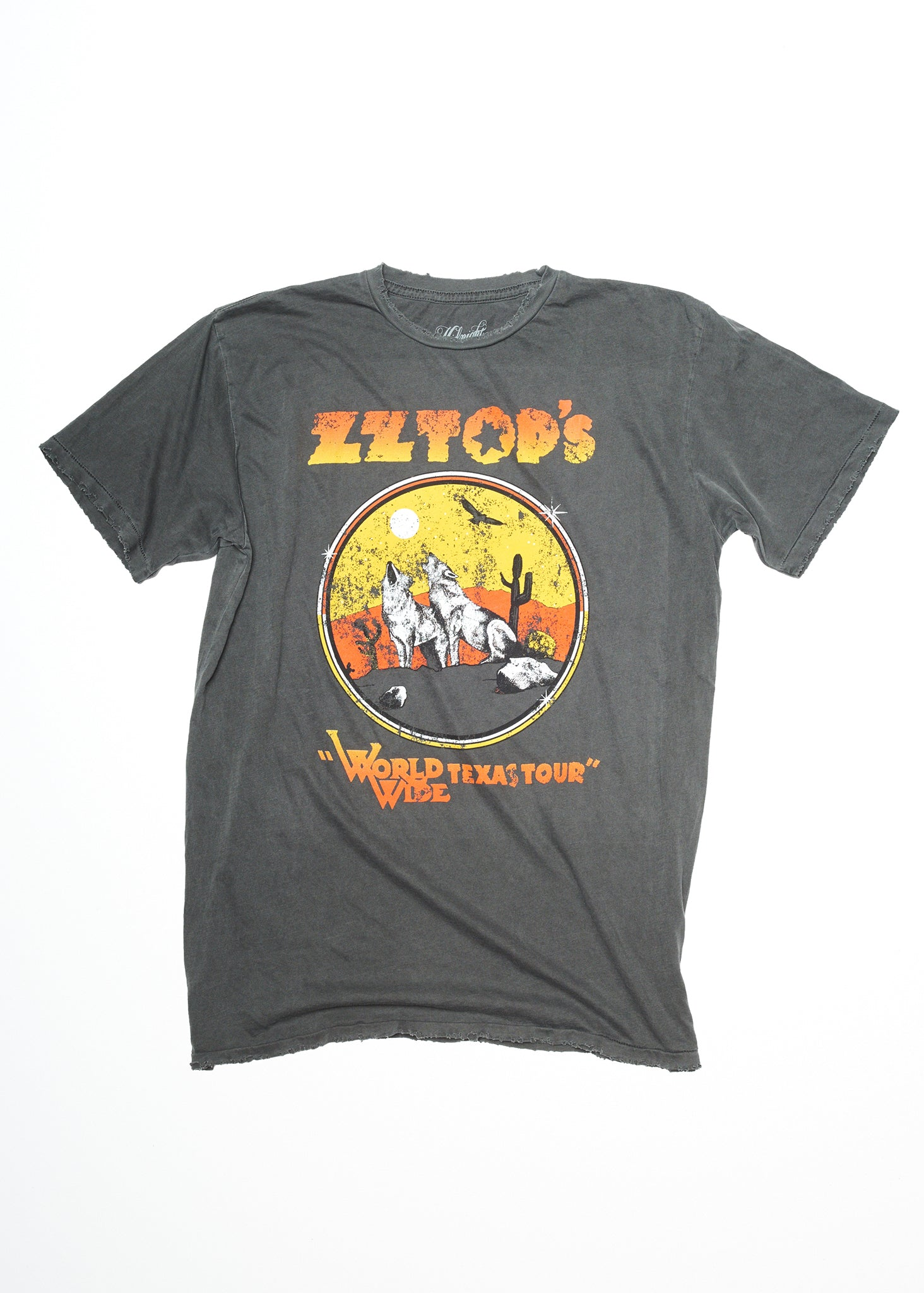 ZZ Top WorldWide Texas Tour Men's Crew - Men's Tee Shirt - Midnight Rider
