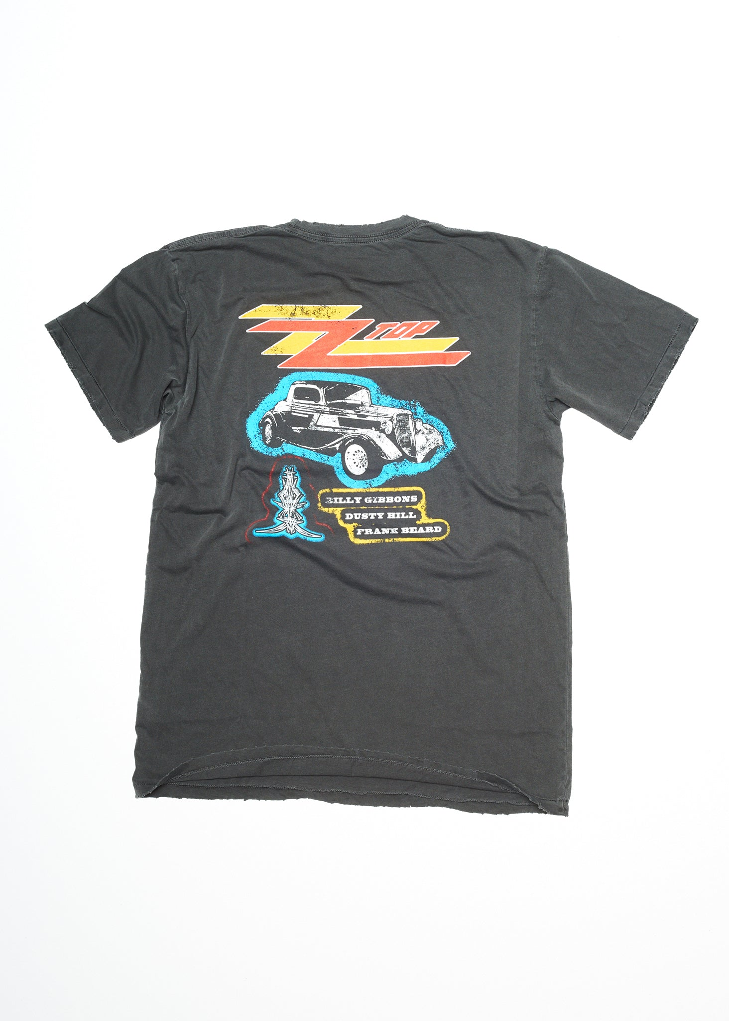 ZZ Top Eliminator Men's Crew - Men's Tee Shirt - Midnight Rider