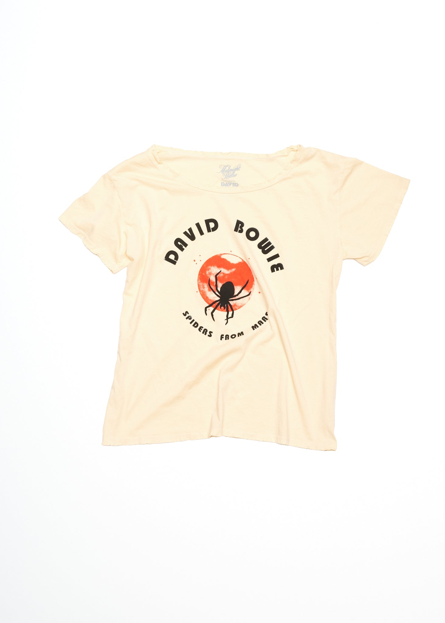David Bowie Spiders From Mars Boyfriend Tee - Summer Melon