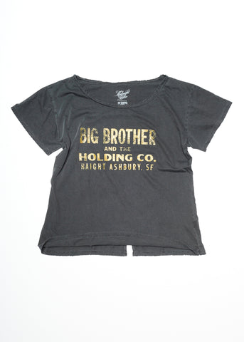 Haight Ashbury Boyfriend Tee - Vintage Black