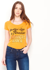 Another Day in Paradise Ballet Tee - Women's Tee Shirt - Midnight Rider