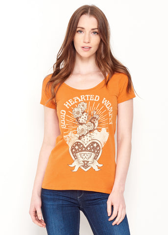 Good Hearted Woman - Maple Ballet Tee - Women's Tee Shirt - Midnight Rider