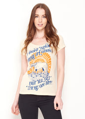 Get There on Time Ballet Tee - Women's Tee Shirt - Midnight Rider