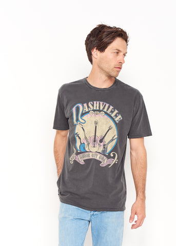 Music City Men's Crew - Vintage Black