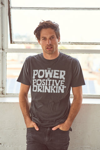 Power of Positive Drinking Men's T-Shirt - Men's Tee Shirt - Midnight Rider