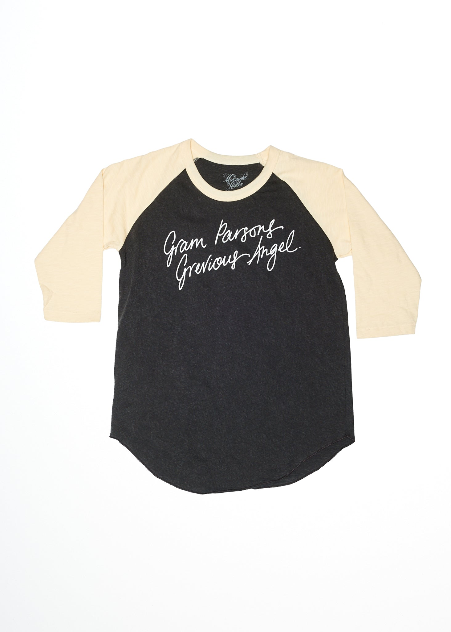 Grevious Angel Baseball Tee - Baseball Tee - Midnight Rider