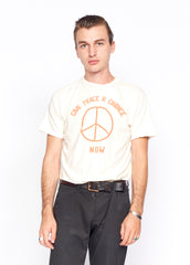 Peace Now Unisex Crew Tee Shirt