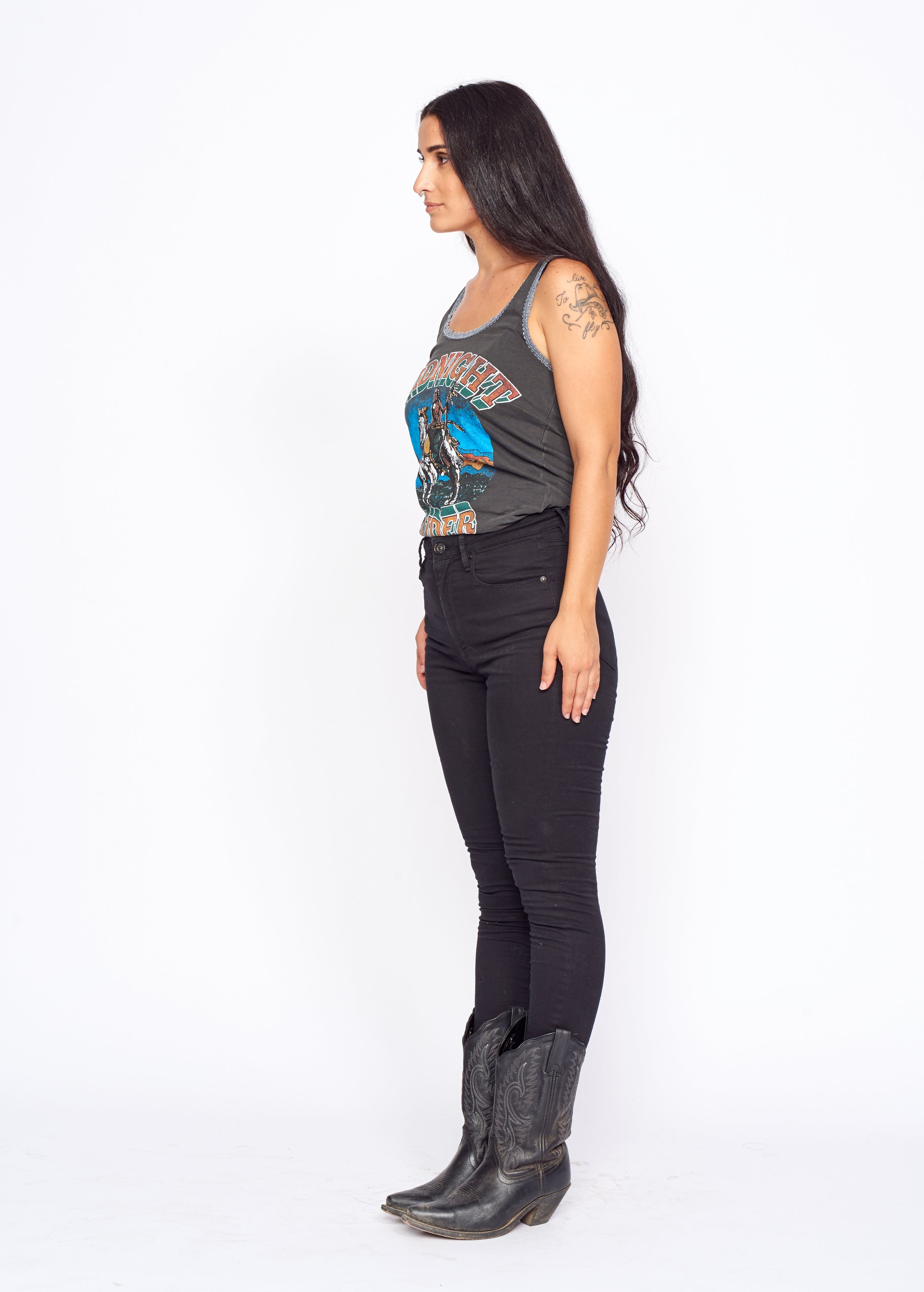 On Horseback Lace Tank