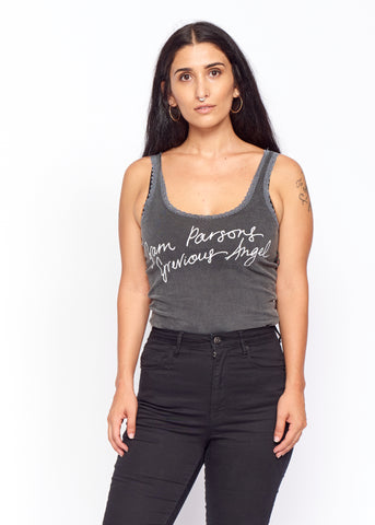 Grevious Angel Lace Tank - Women's Lace Tank - Midnight Rider