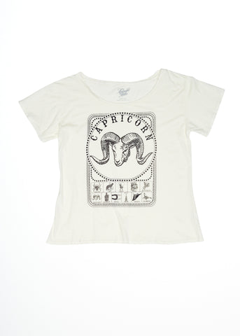 Sweetheart of the Rodeo Ballet Tee - Coconut