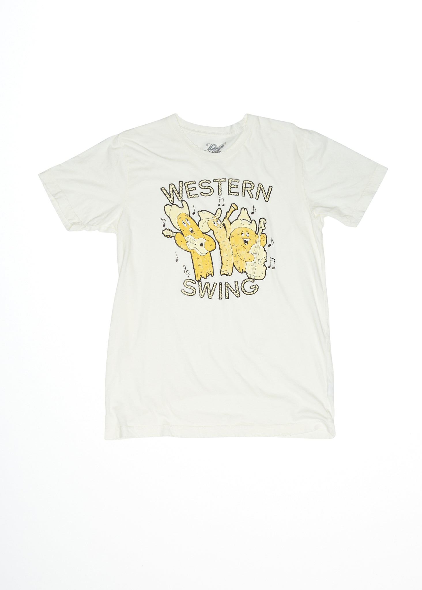 Western Swing Men's Tee - Men's Tee Shirt - Midnight Rider