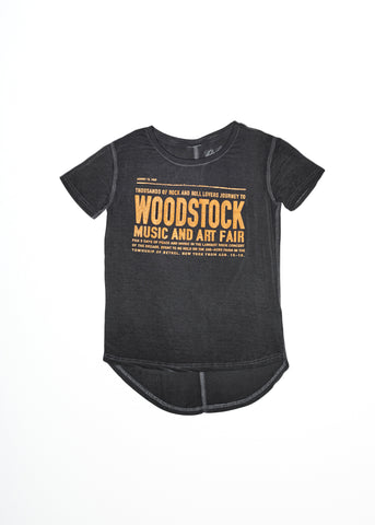 Woodstock Art Faire Droptail Tee