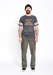 Waylon G.D. Jennings Burnout Football Tee