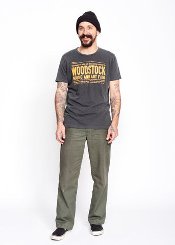 Woodstock Art Faire Men's Crew - Vintage Black