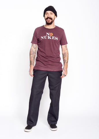 No Nukes Men's Crew - Men's Tee Shirt - Midnight Rider