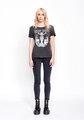 Doug Sahm & Friends Women's Droptail Tee - Women's Tee Shirt - Midnight Rider