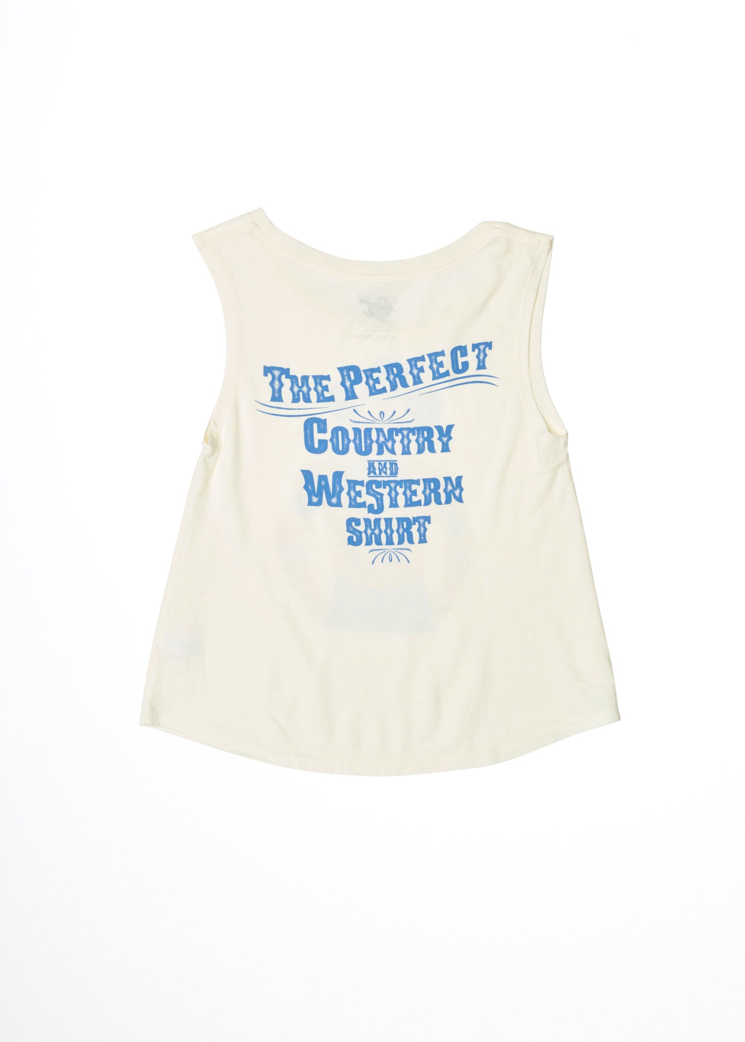 Perfect Country and Western Muscle Tee - Women's Muscle Tee - Midnight Rider