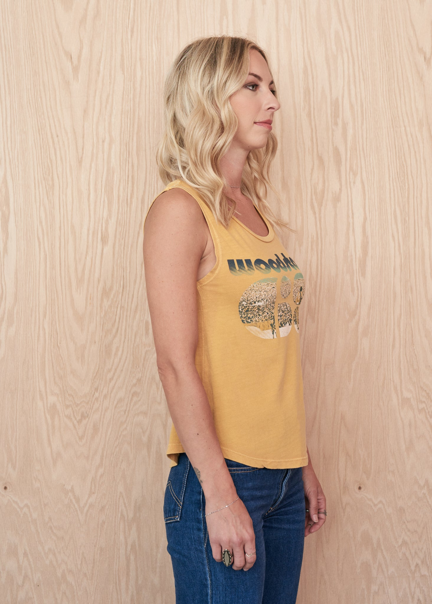 Woodstock '69 Muscle Tee Finished Muscle