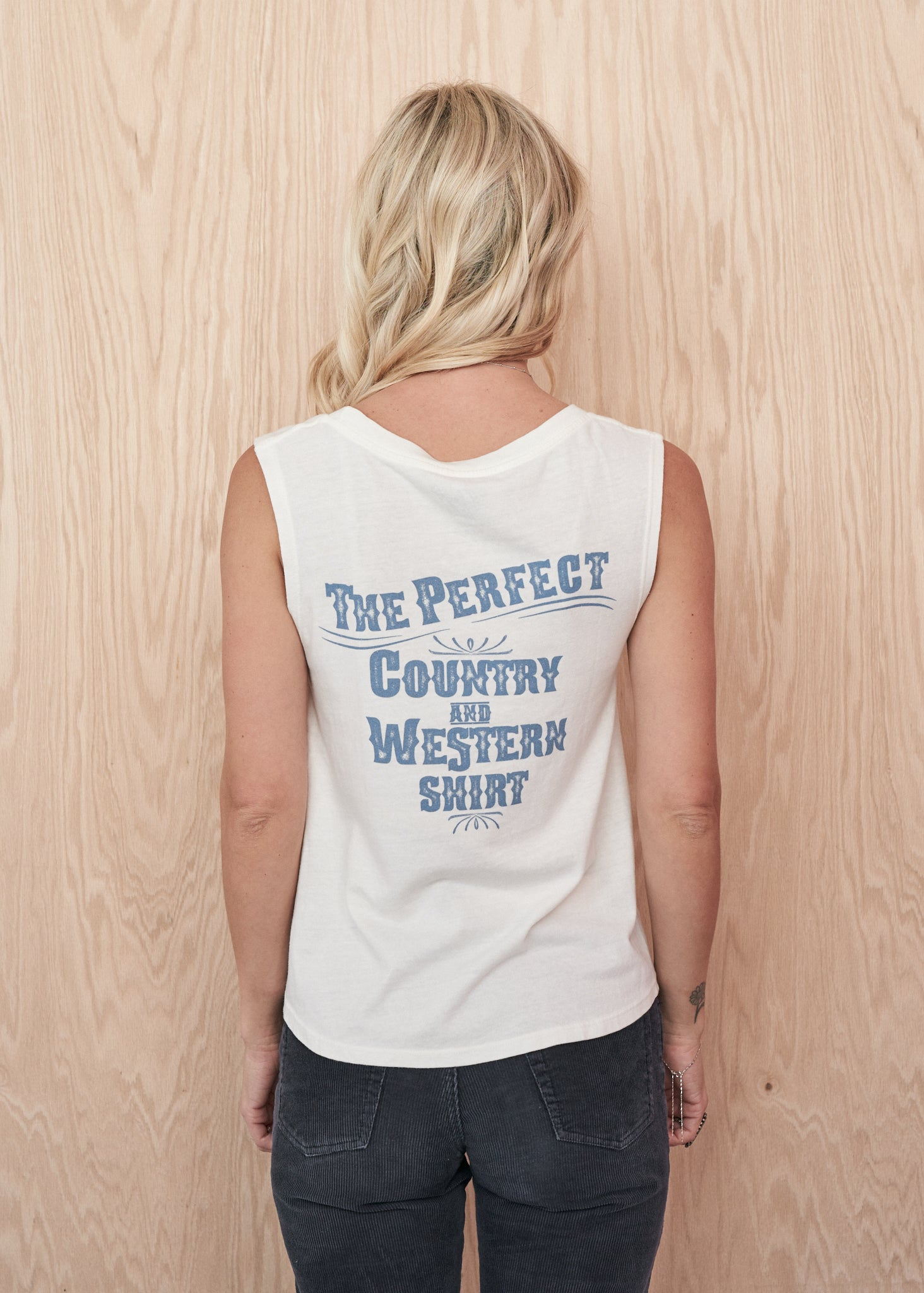 Perfect Country and Western Muscle Tee