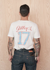 Gilley's #17 Men's Tee Shirt - Men's Tee Shirt - Midnight Rider