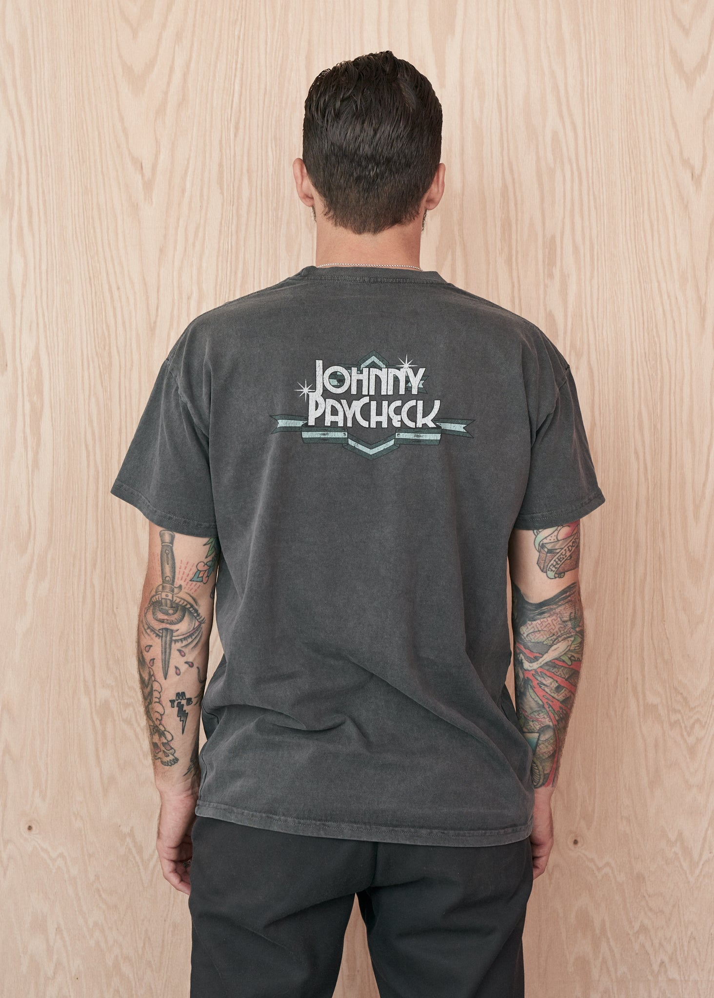 Johnny Paycheck Two-Sided 90's Unisex Tee Shirt