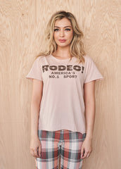 Rodeo! America's No. 1 Sport Women's Cut-Off Tee
