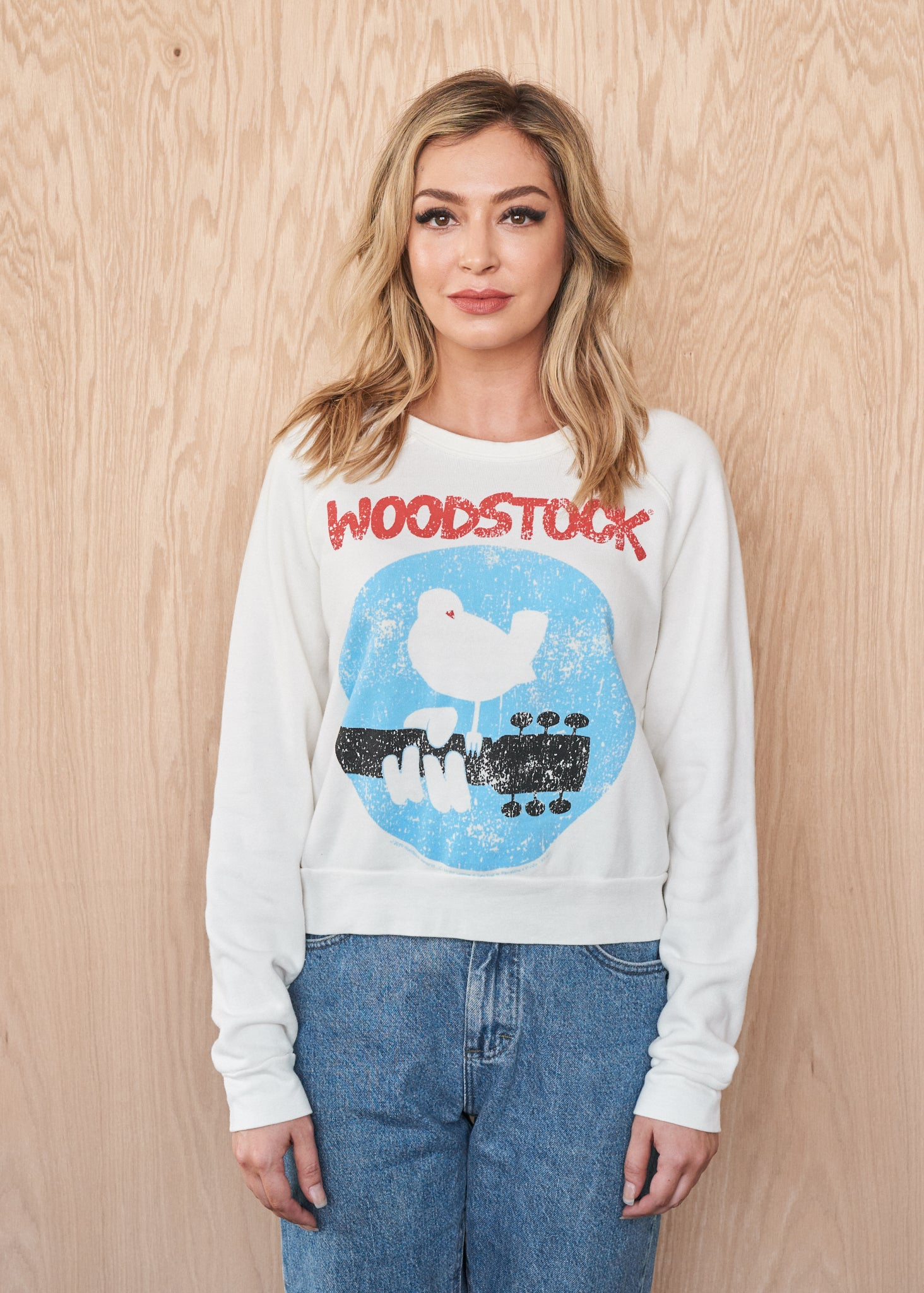 Woodstock Logo Women's Sweatshirt - Women's Sweatshirt - Midnight Rider