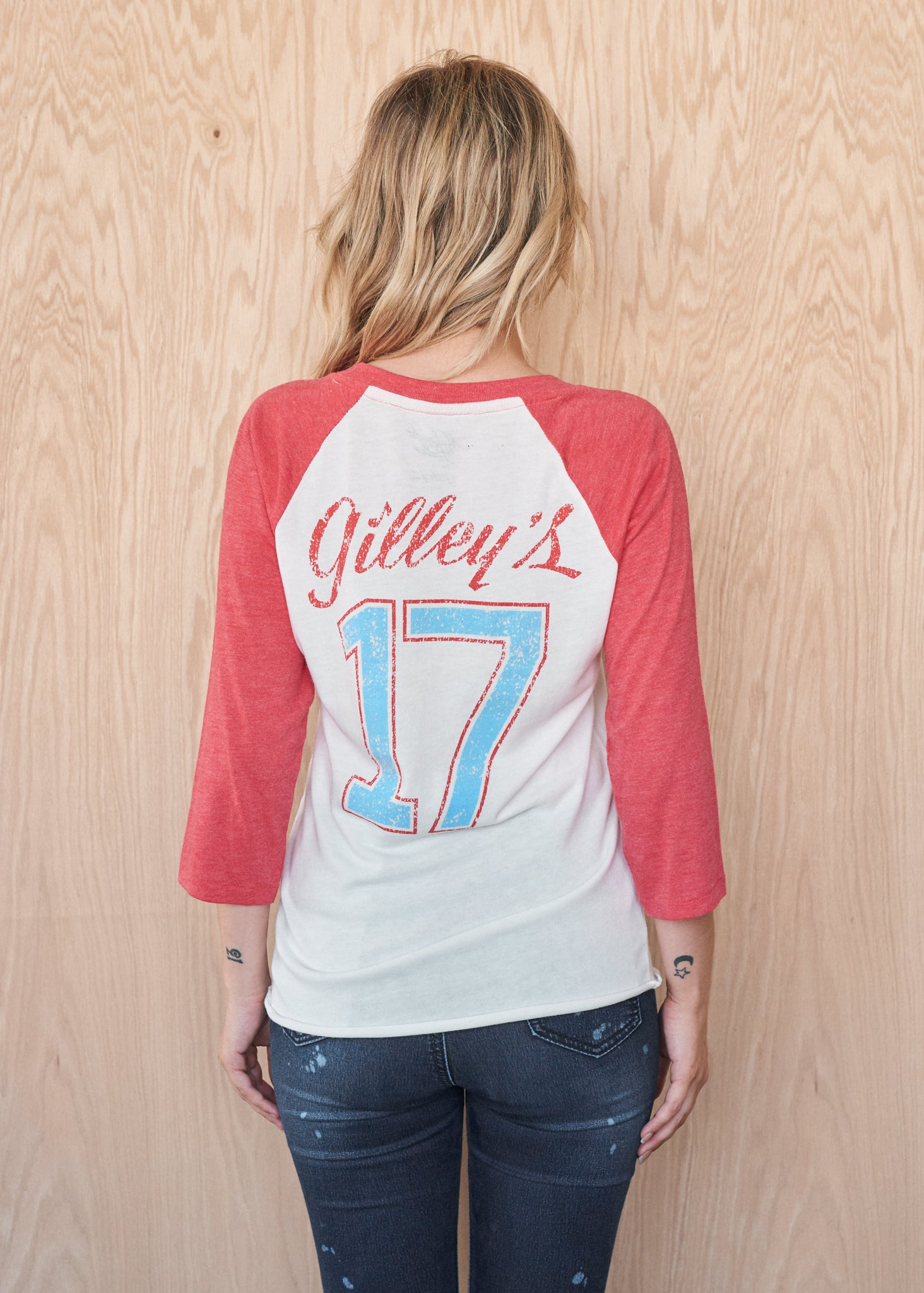 Gilley's #17 Baseball Tee