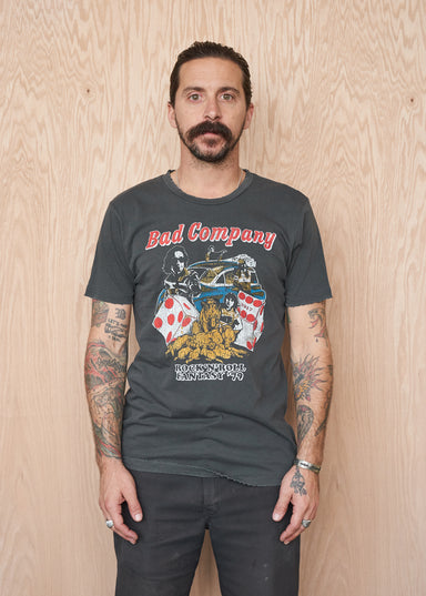 Bad Company Rock 'n' Roll Fantasy '79 Men's T-Shirt - Men's Tee Shirt - Midnight Rider