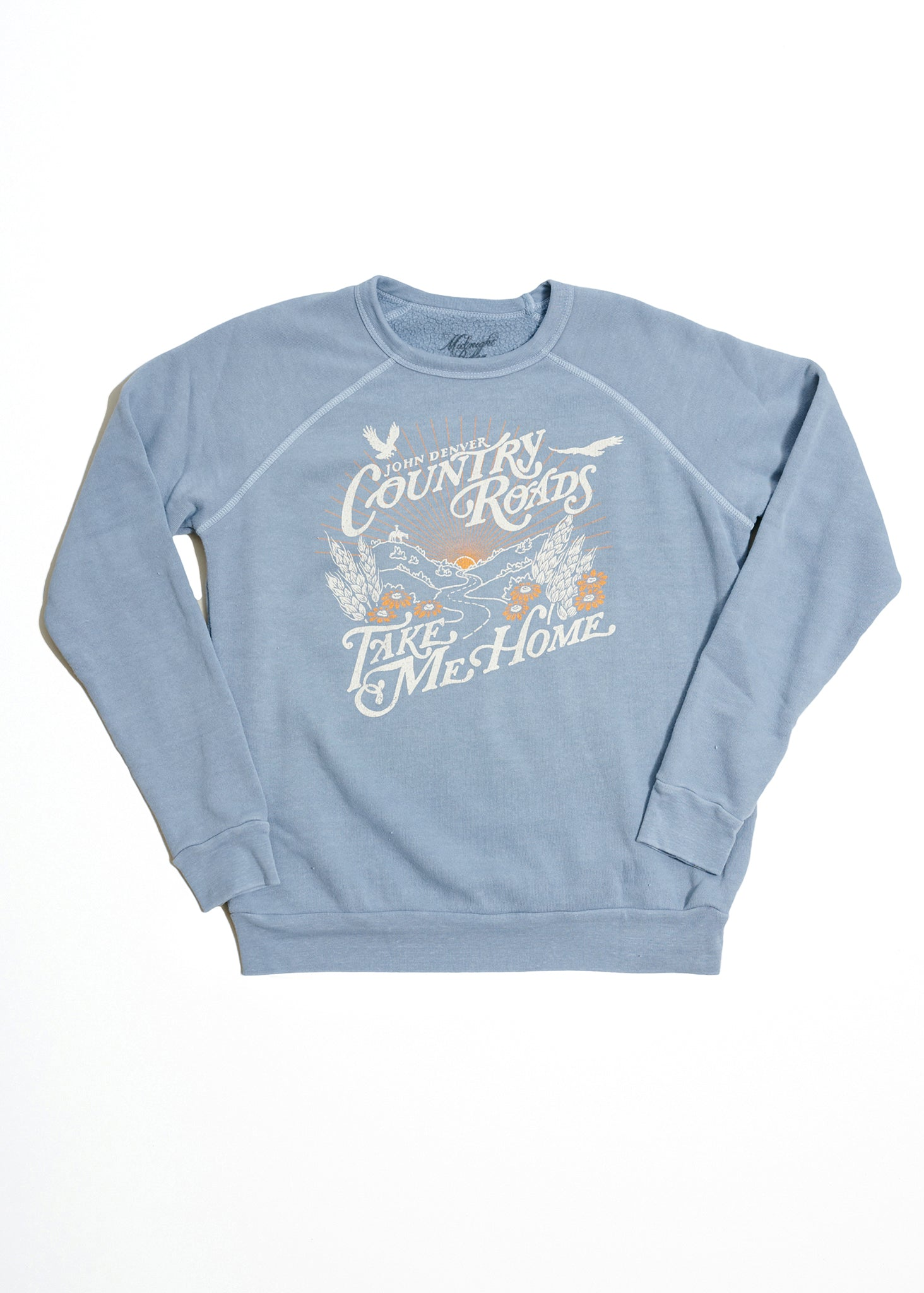 John Denver Country Roads Women's Sweatshirt - Women's Tee Shirt - Midnight Rider