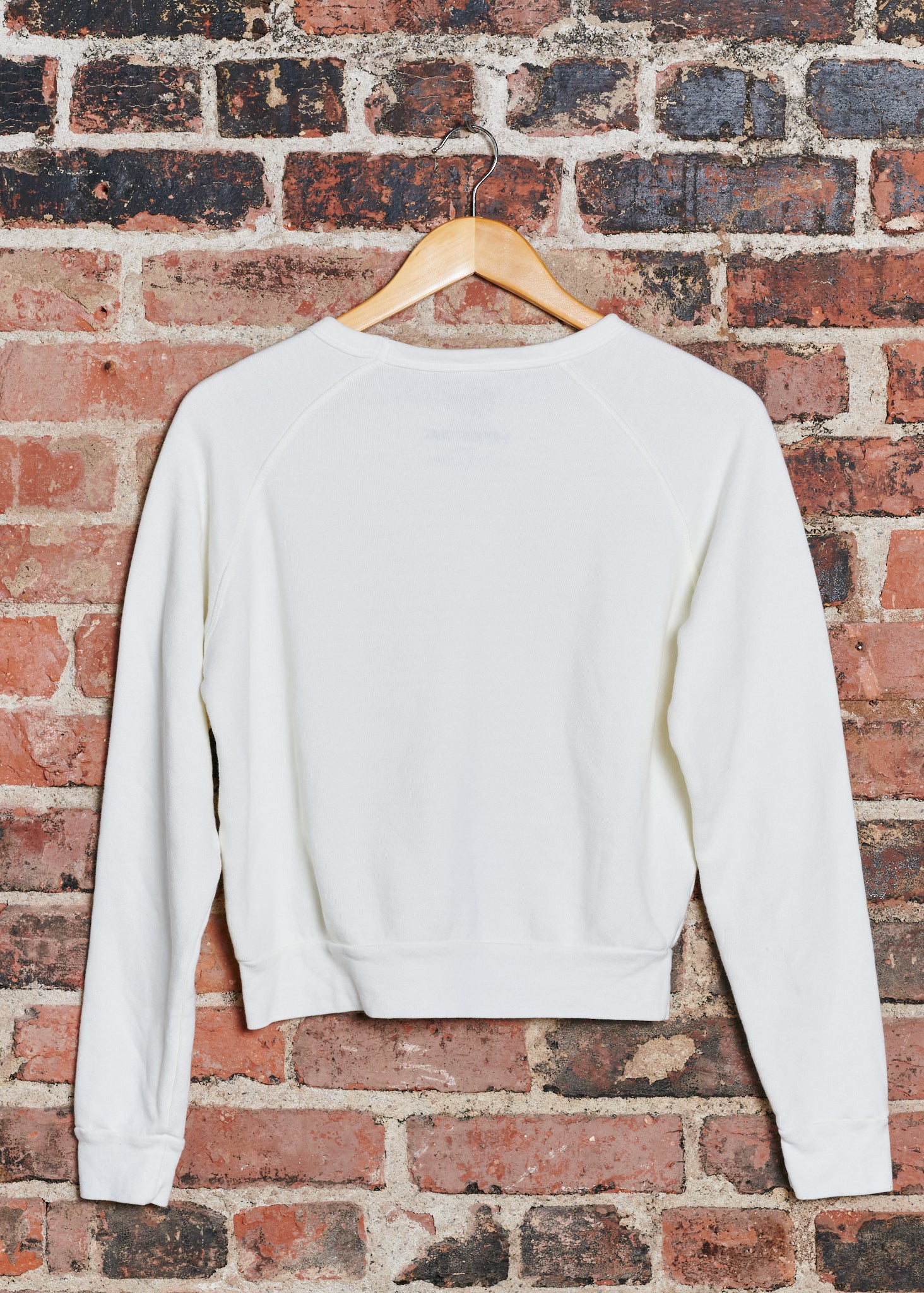Woodstock Logo Cropped Sweatshirt