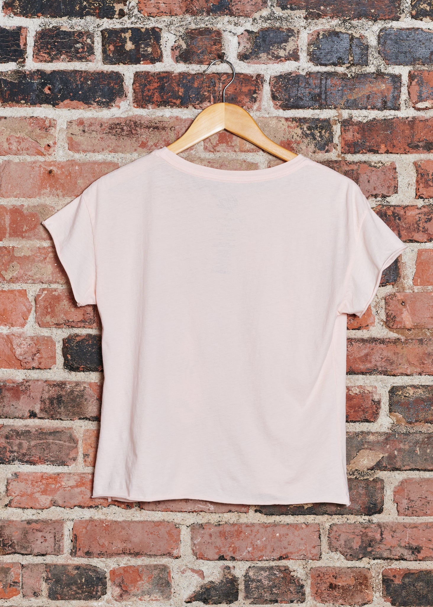 Circling Tigers Quartz Pink Cut-Off Tee
