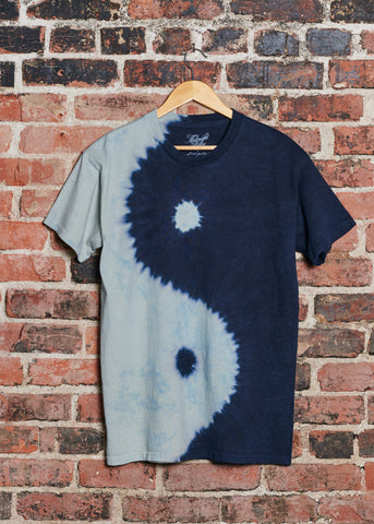 Cosmic Cowboy Men's Tie-Dyed Tee Shirt