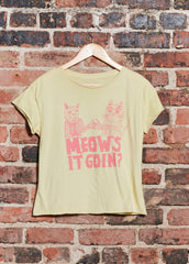Meow's It Goin? Cut Off Tee
