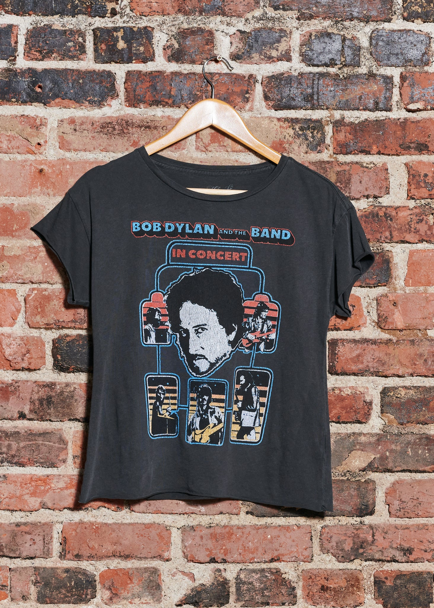 BOB DYLAN AND THE BAND IN CONCERT CUT OFF TEE