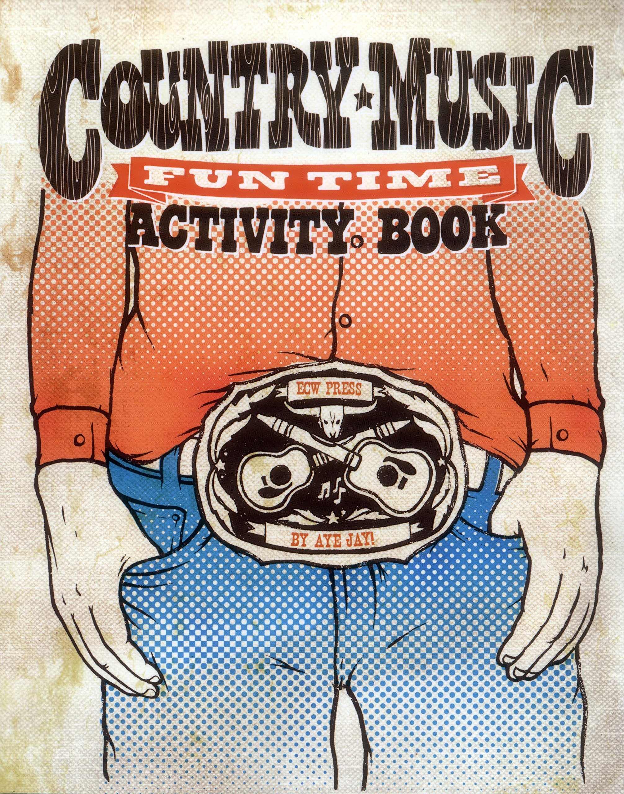 Country Music Fun Time Activity Book -  - Midnight Rider
