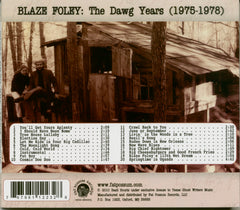 Blaze Foley - The Dawg Years (1975-1978) (LP)