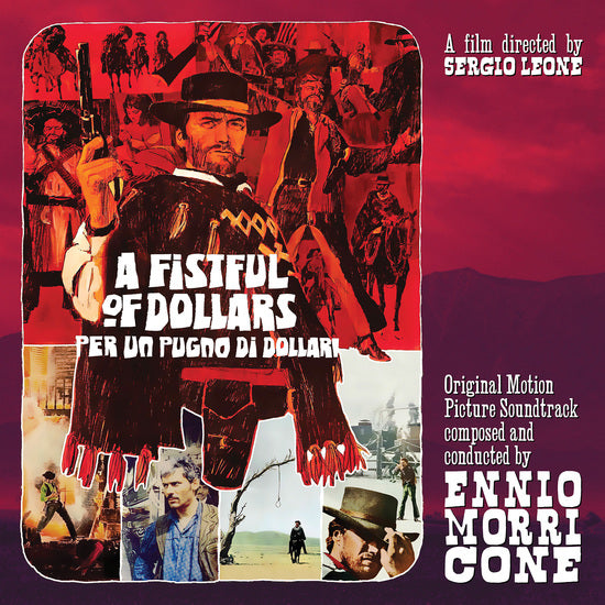 "Ennio Morricone -  Fistful Of Dollars (RSD 10"")"