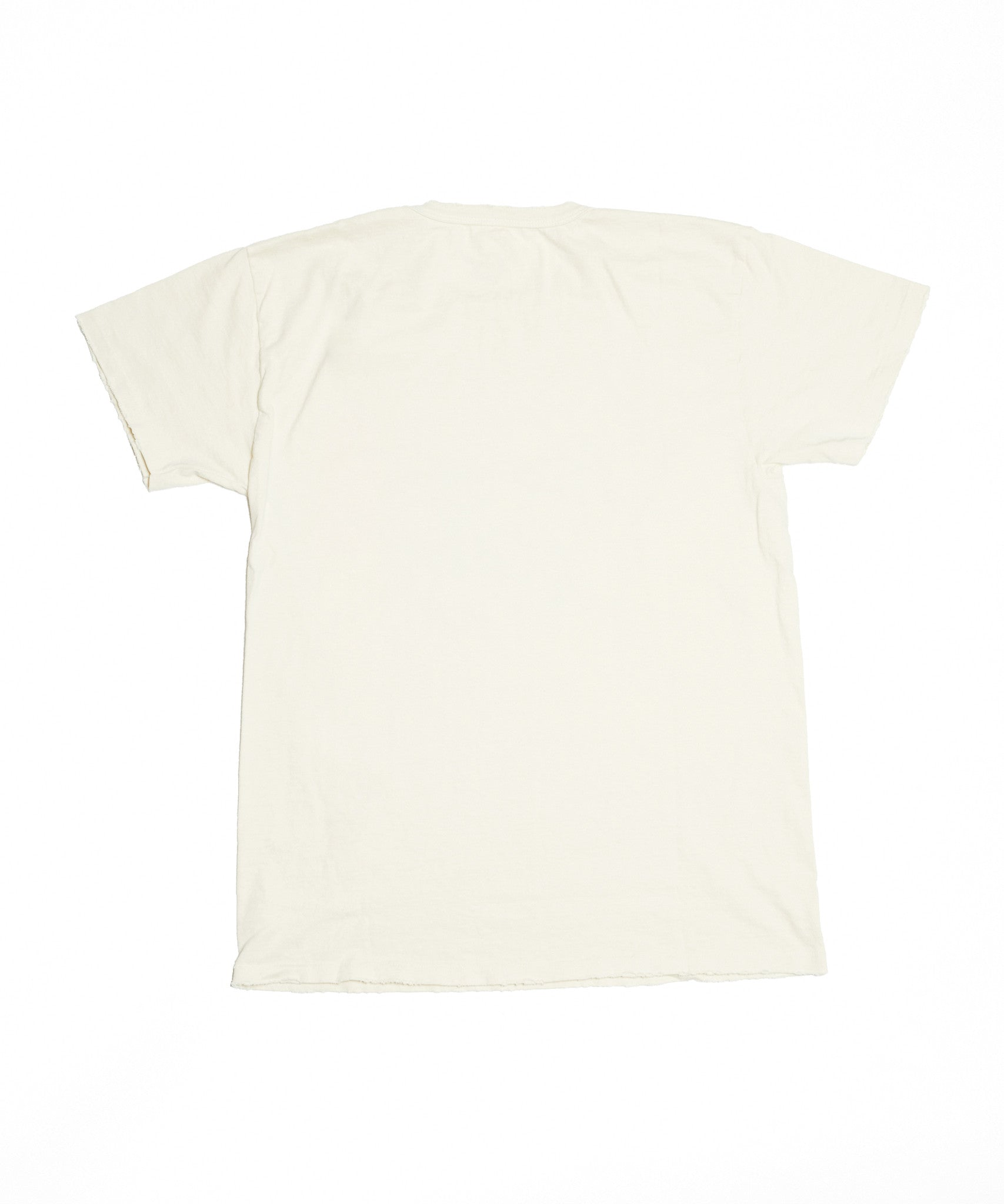 Midnight Rider Logo Unisex Crew - Dirty White