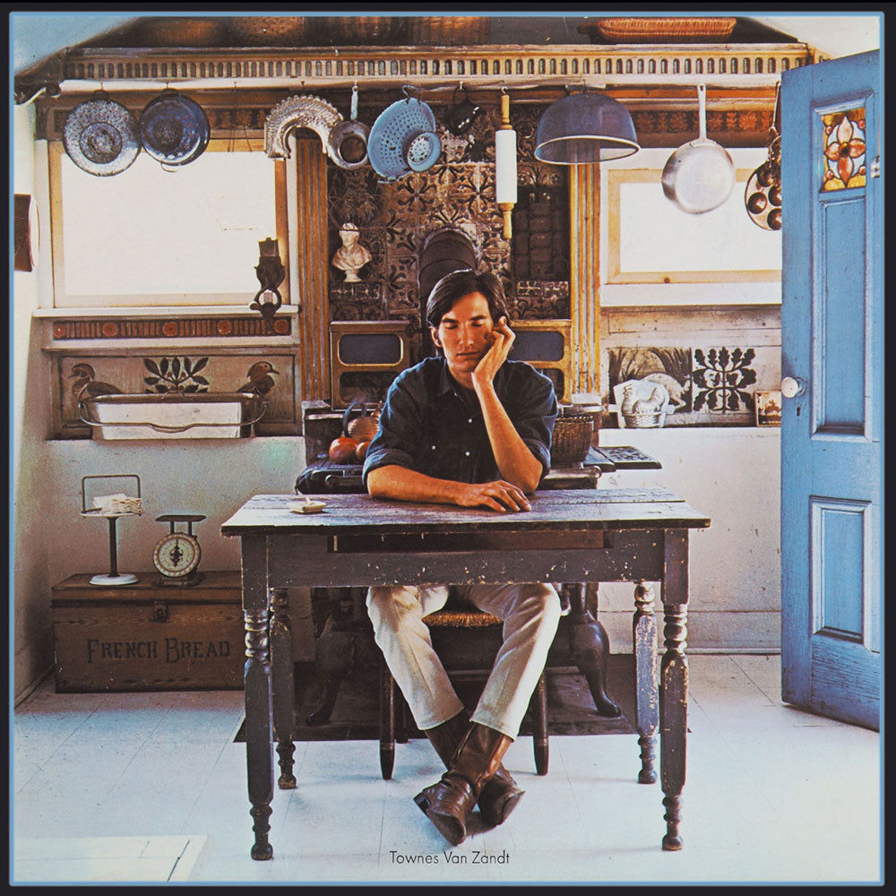 Townes Van Zandt - Townes Van Zandt (LP) - Accessories - Midnight Rider