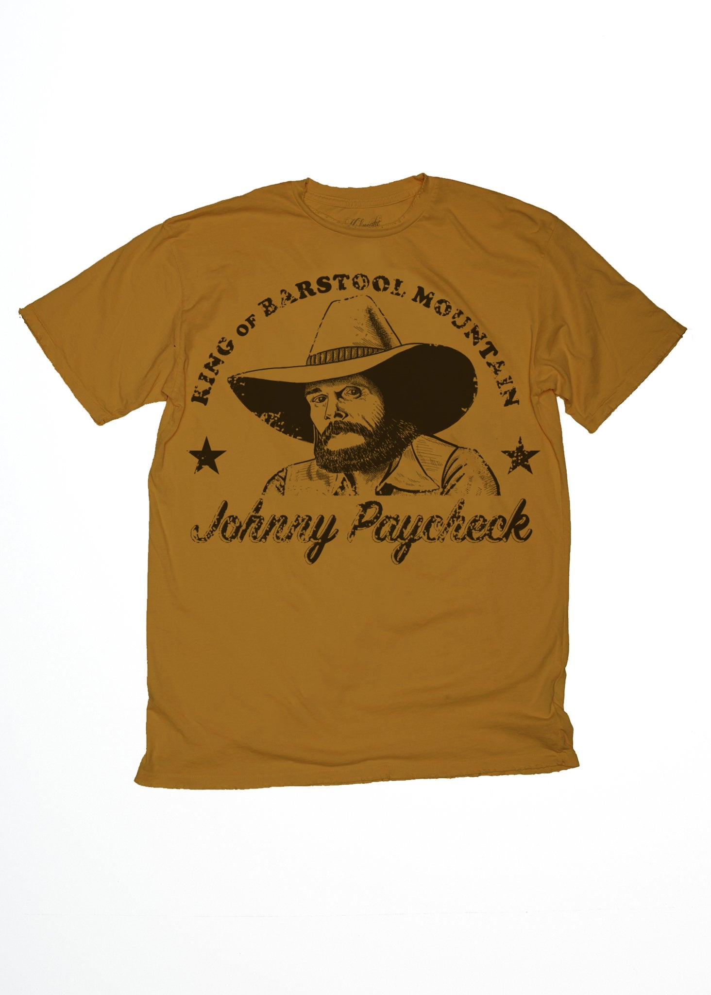Barstool Mountain Johnny Paycheck Mens Crew Midnight Rider