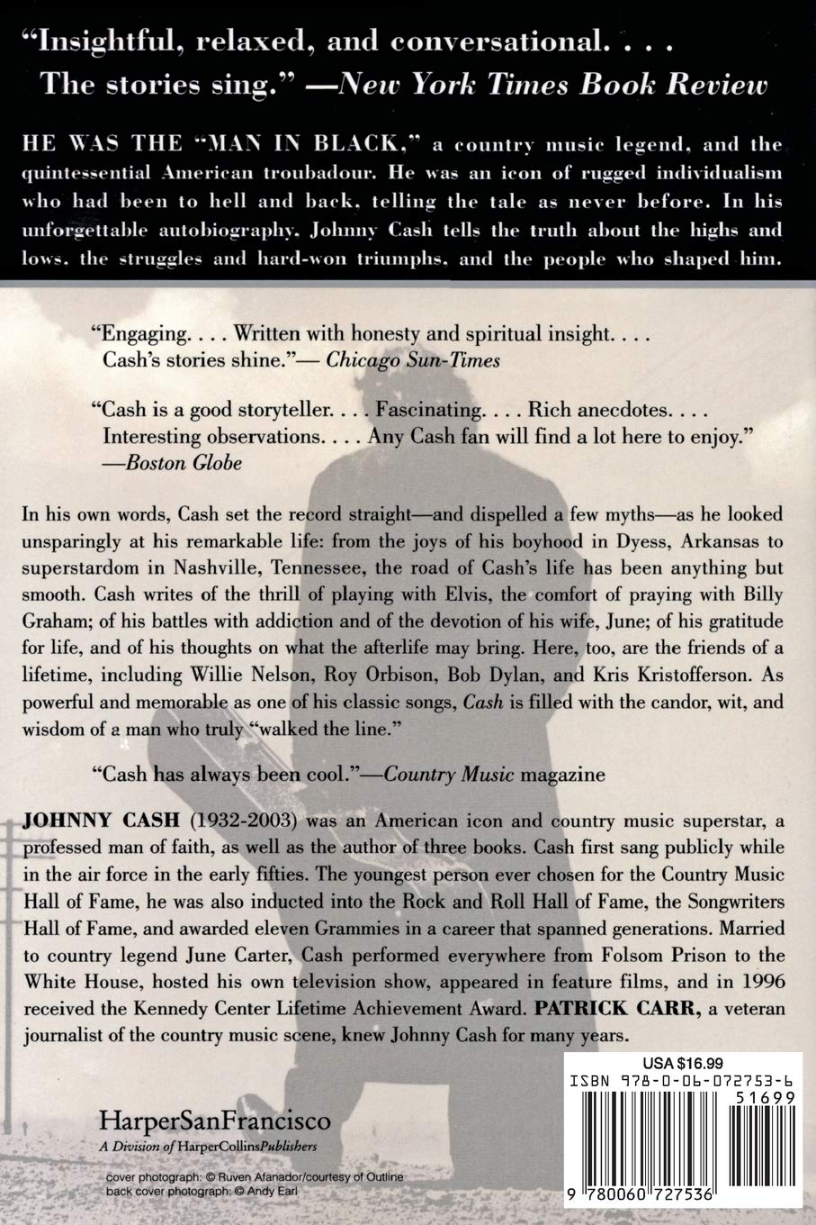 Cash: The Autobiography (Johnny Cash)