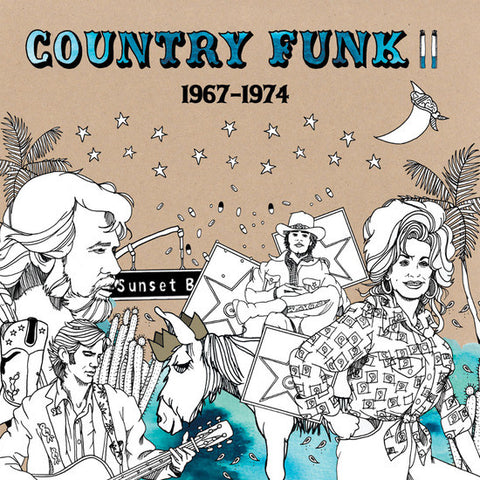 V/A - Country Funk Volume II 1967 - 1974 (2 X LP)