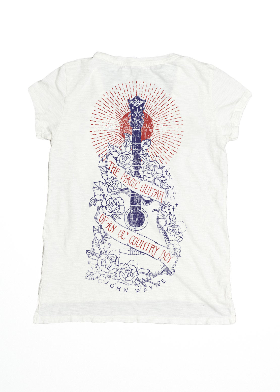 Magic Guitar Pocket Tee