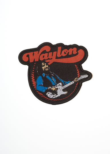 Waylon Jennings Telecaster Patch - Accessories - Midnight Rider