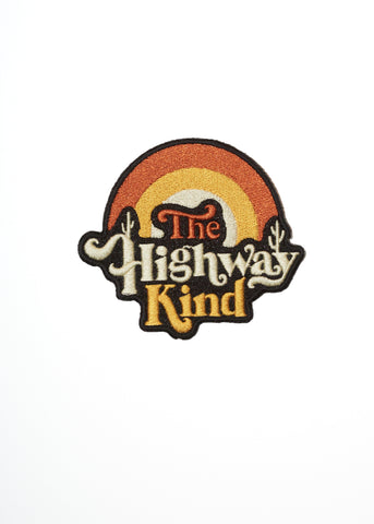 Townes Van Zandt Highway Kind Patch - Accessories - Midnight Rider
