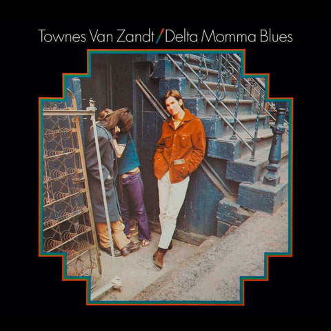 Townes Van Zandt - Delta Momma Blues (LP) - Accessories - Midnight Rider