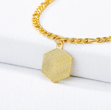 Load image into Gallery viewer, 80% OFF VALENTINE'S DAY SALE - 18k GOLD INITIAL LETTER ANKLET - Love Jewellery Official
